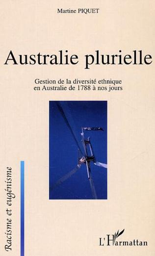 Couverture Australie plurielle