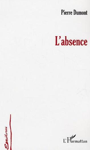 Couverture L'absence