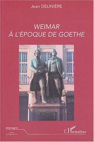 Couverture Weimar à l'époque de Goethe