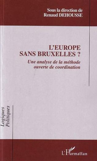 Couverture L'Europe sans Bruxelles