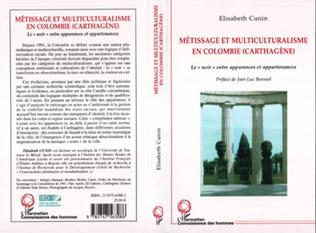 Couverture Métissages et multiculturalisme en Colombie (Carthagène)