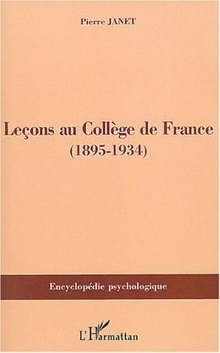 Couverture Leçons au Collège de France