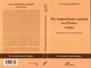 Couverture Du magnétisme animal en France (1826)
