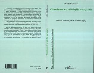 Couverture Chroniques de la Kabylie martyrisée