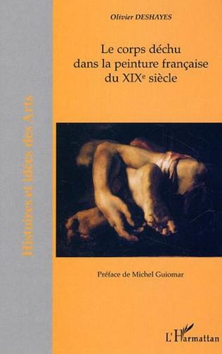 Couverture Le corps déchu dans la peinture française du XIX  siècle