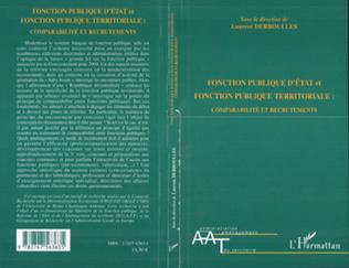 Couverture Fonction publique d'Etat et fonction publique territoriale