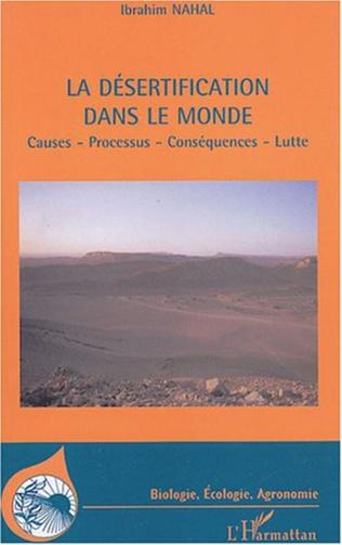 Couverture la désertification dans le monde