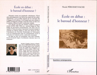 Couverture Ecole en débat : Le baroud d'honneur?