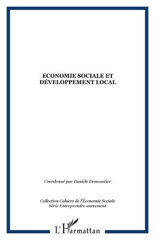 Couverture Economie sociale et développement local