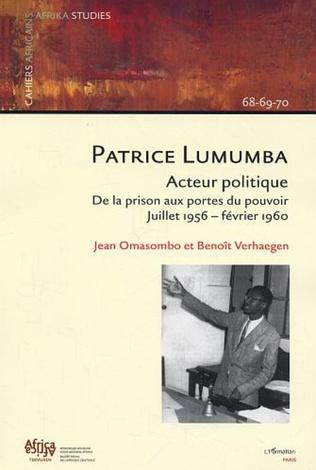 Couverture Patrice Lumumba, acteur politique