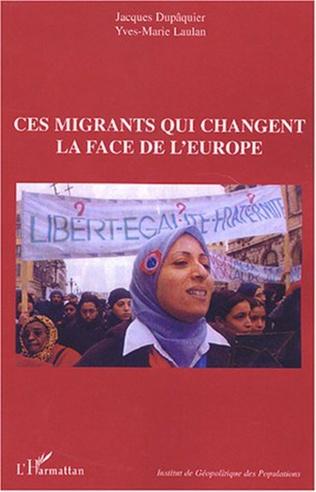 Couverture Ces migrants qui changent la face de l'Europe