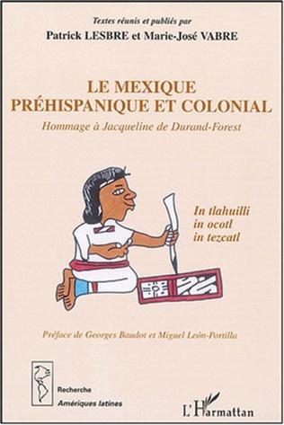 Couverture Le Mexique préhispanique et colonial