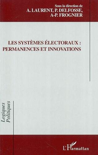Couverture Les systèmes électoraux