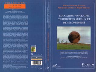 Couverture Education populaire, territoires ruraux et développement