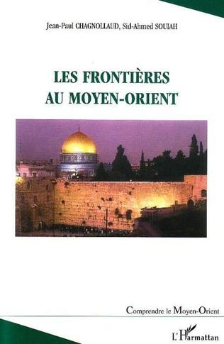 Couverture Les frontières au Moyen-Orient