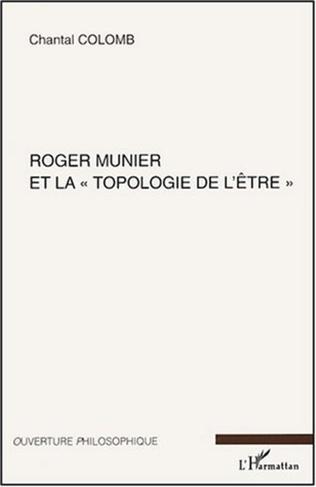 Couverture Roger Munier et la