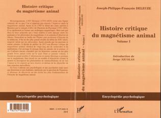 Couverture Histoire critique du magnétisme animal