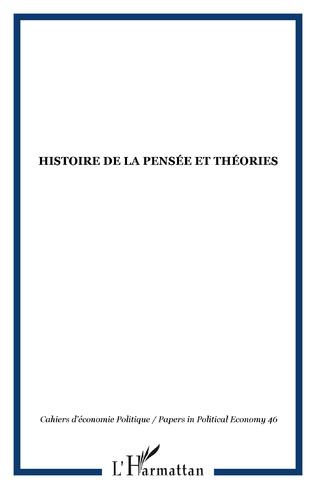 Couverture Histoire de la pensée et théories