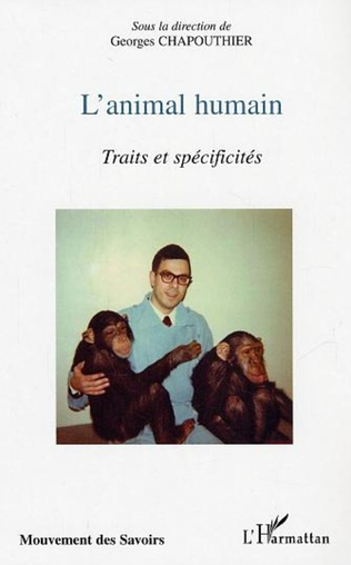 Couverture L'animal humain