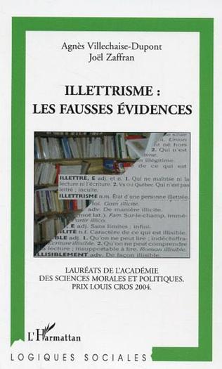 Couverture Illettrisme: les fausses évidences