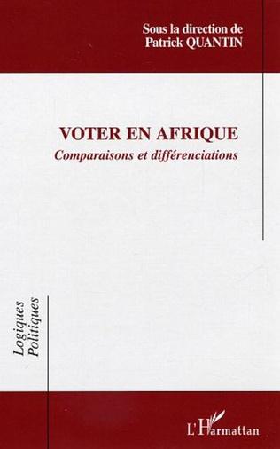 Couverture Voter en Afrique