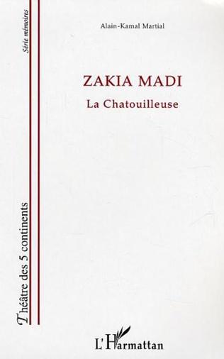 Couverture Zakia Madi