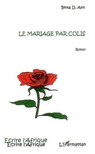 Couverture Le mariage par colis