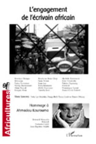 Couverture L'engagement de l'écrivain africain