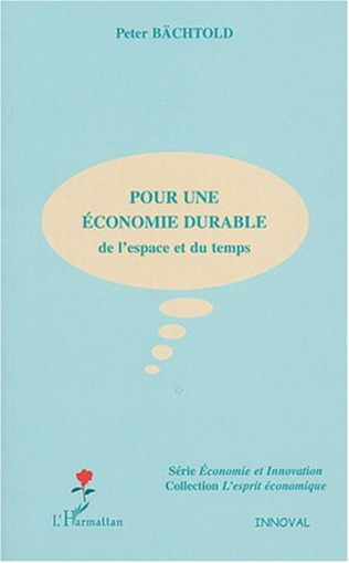 Couverture Pour une économie durable
