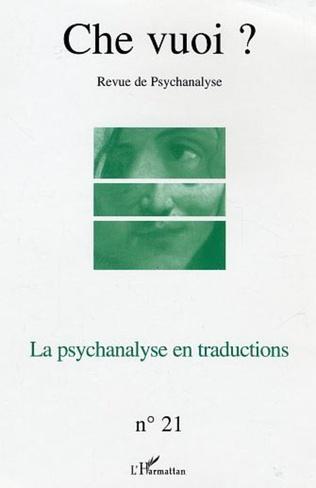 Couverture La psychanalyse en traductions