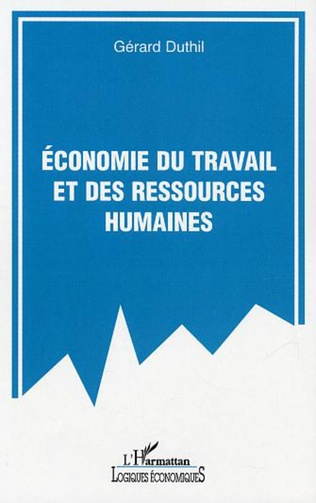 Couverture Economie du travail et des ressources humaines