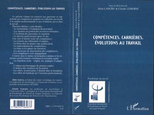 Couverture Compétences, carrières, évolutions au travail