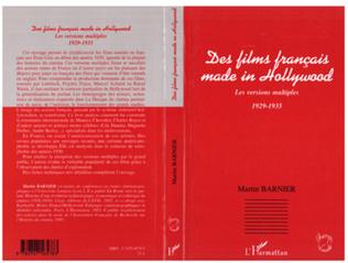 Couverture Des films français made in Hollywood