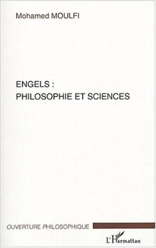 Couverture Engels : philosophie et sciences