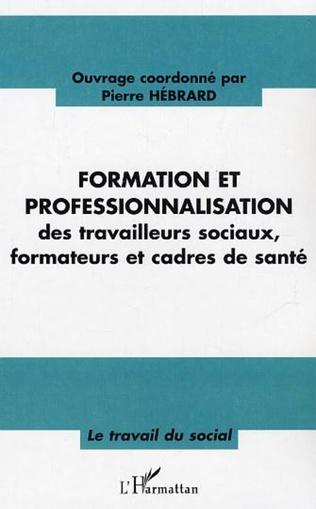 Couverture Formation et professionnalisation