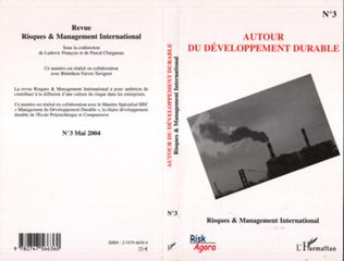 Couverture Autour du développement durable