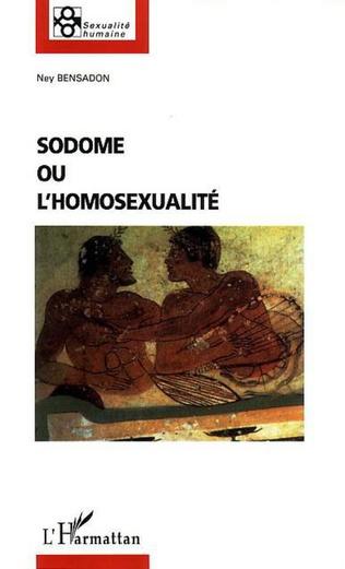 Couverture Sodome ou l'homosexualité