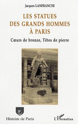 Couverture Les statues des grands hommes à Paris
