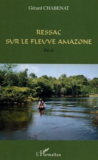 Couverture Ressac sur le fleuve Amazone