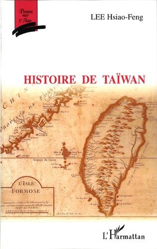 Couverture Histoire de Taïwan