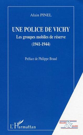 Couverture Une police de Vichy