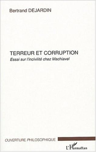 Couverture Terreur et corruption