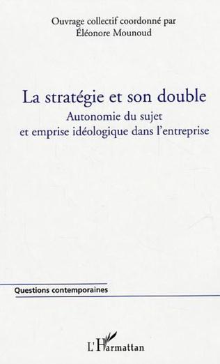 Couverture La stratégie et son double