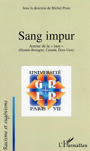 Couverture Sang impur