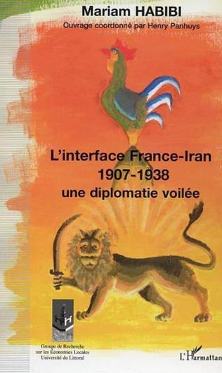 Couverture L'interface France-Iran 1907-1938