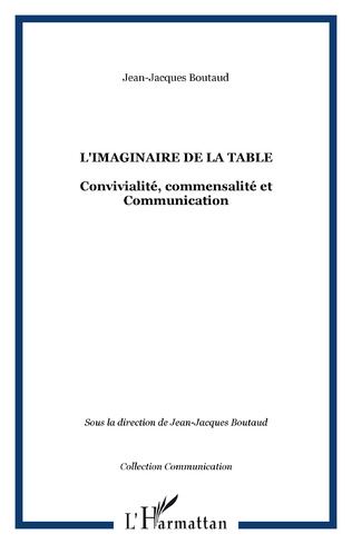 Couverture L'imaginaire de la table