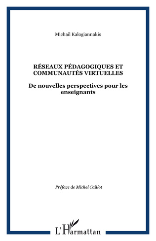 Couverture Réseaux pédagogiques et communautés virtuelles