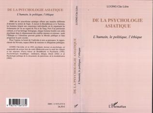 Couverture De la psychologie asiatique