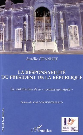 Couverture La responsabilité du président de la République