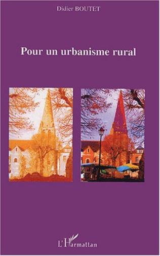 Couverture Pour un urbanisme rural